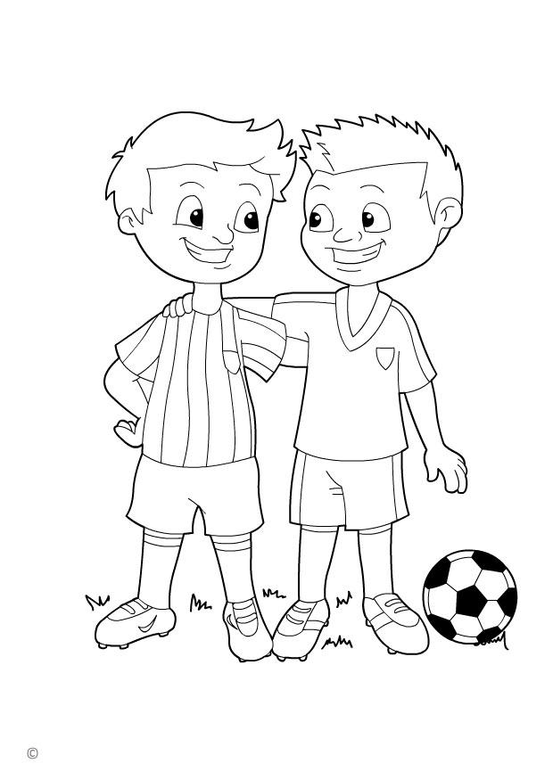 Coloring Page Fair Play Img 26146