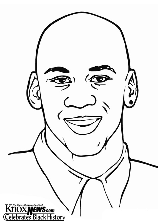 Coloring Page Michael Jordan Free Printable Coloring Pages