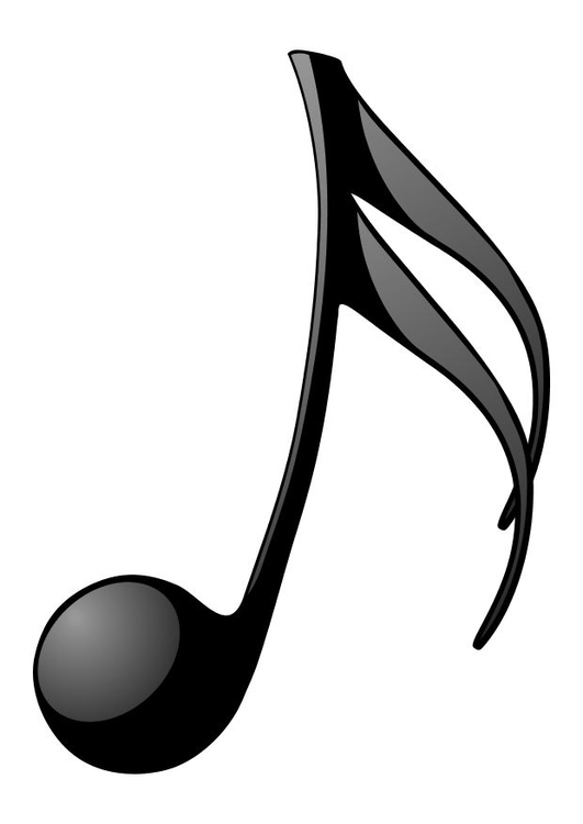 coloring page music note img 10469