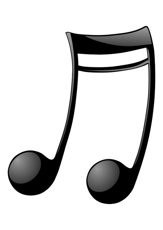 coloring page music notes img 10471