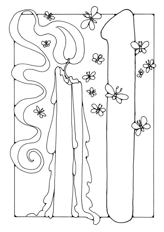 Coloring Page Number 1 Free Printable Coloring Pages