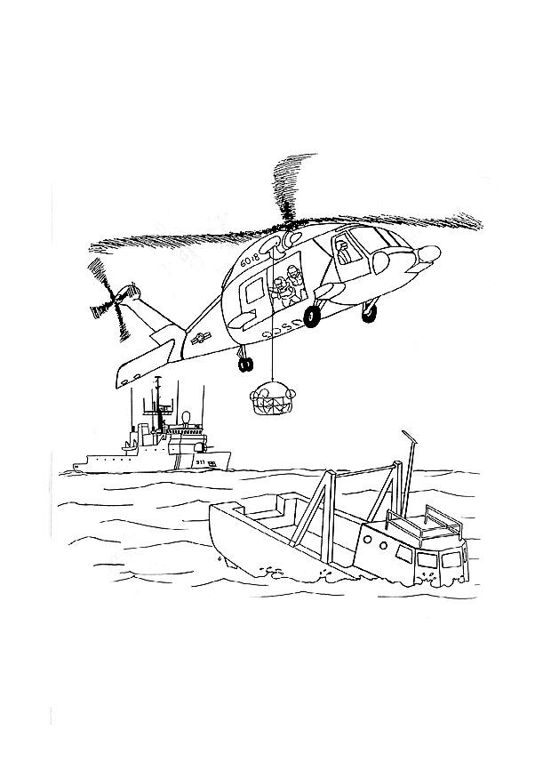 Coloring Page Rescue Mission Img 9275