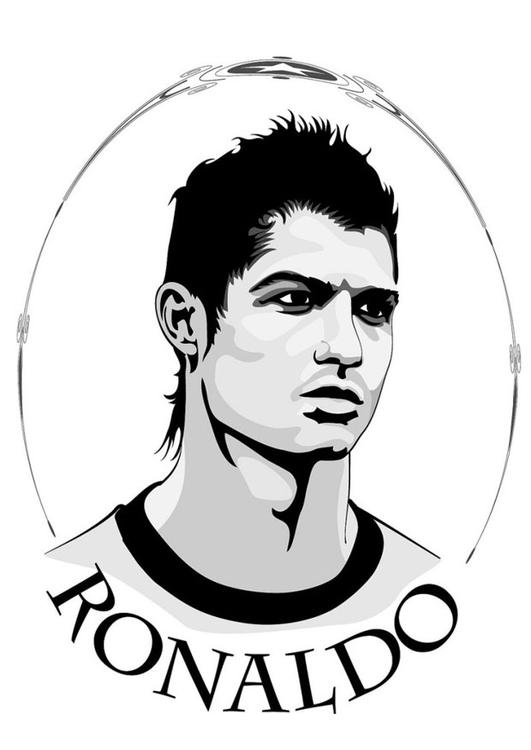 Soccer Coloring Pages RonaldoColoringPrintable Coloring Pages