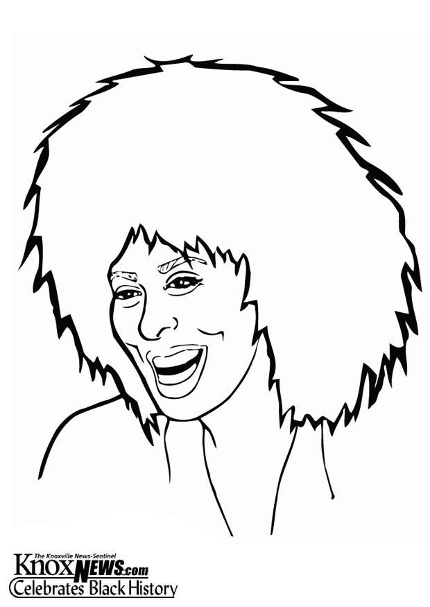 Coloring Page Tina Turner Img 13332