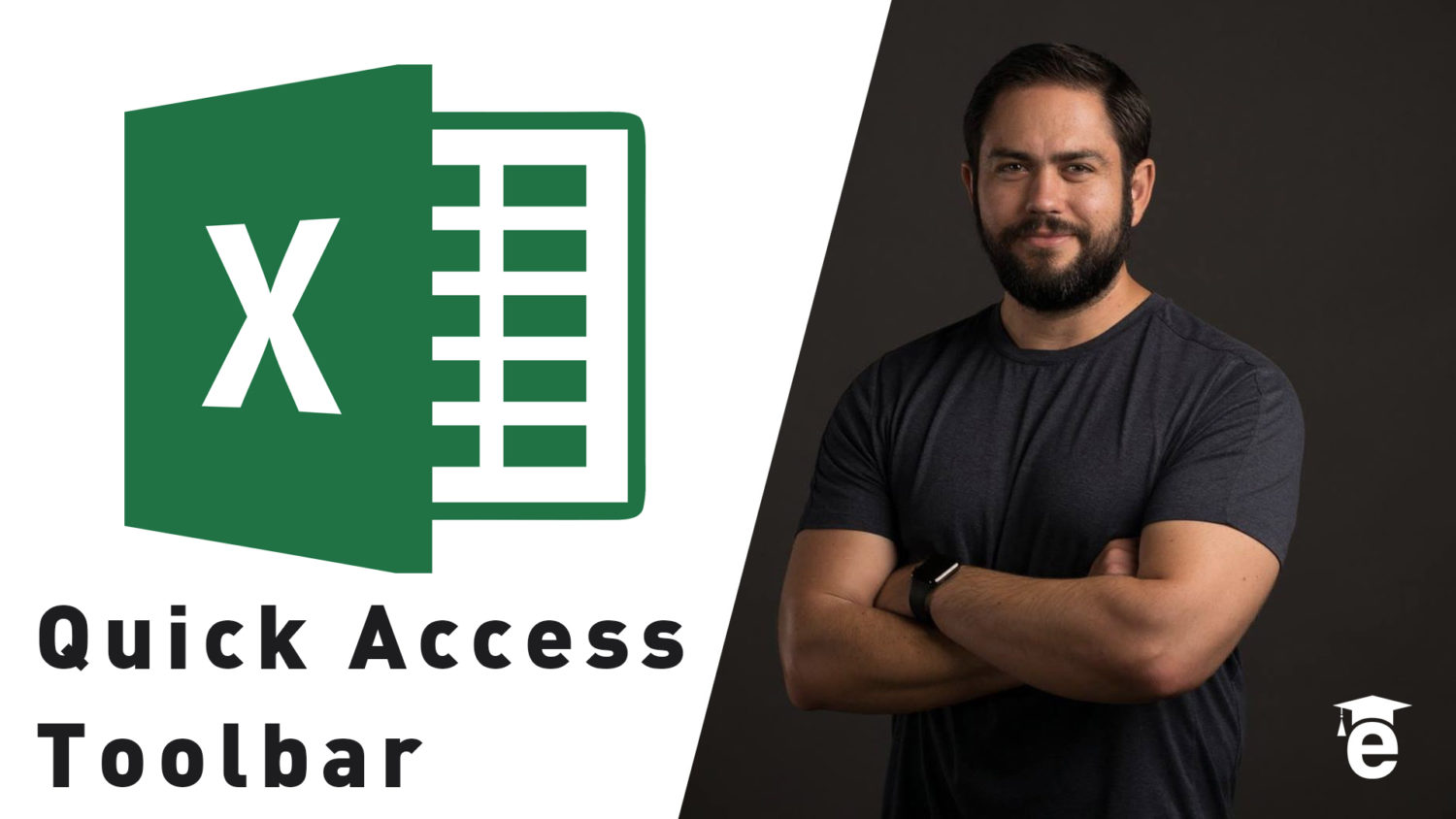 How To Customize Excel S Quick Access Toolbar Edutechional