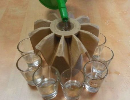 drink/peg maker 3d printed