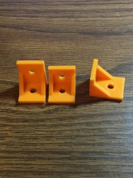 3d printed degree angle brackets