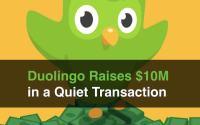 duolingo raises $10m quietly