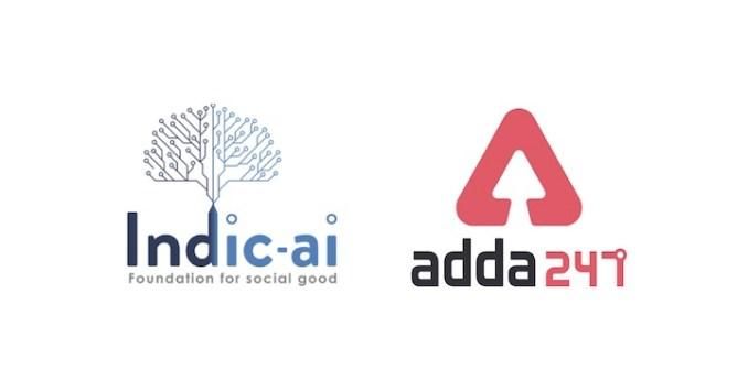 indic-ai and adda 247