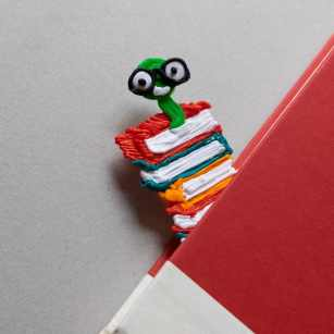 bookworm bookmark 3d pen template