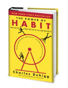 Books for success in life - The Power of Habit by Charles Duhigg