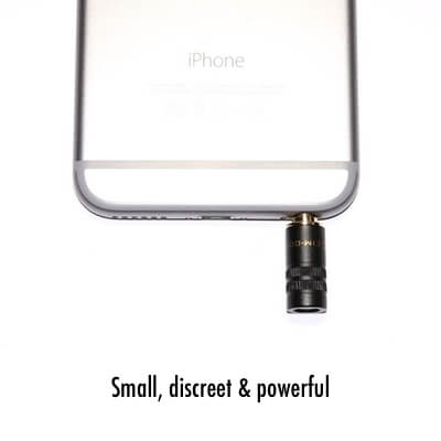 External microphone for iPhone 6 iPhone 5s iPhone 5 iPhone 4s iPhone 4