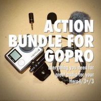 Action Bundle external microphone package for GoPro Hero4_1