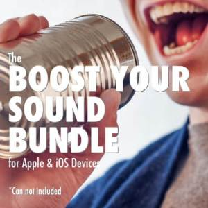 Edutige Boost Your Sound External Microphone Bundle for iPhone 6 iphone 5s iphone 5 iPad air iPad mini iMac macbook pro
