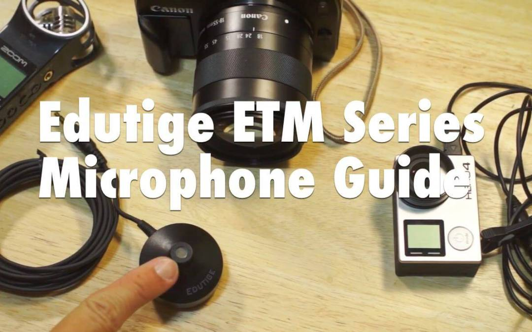 Edutige ETM Series Microphone Guide Video