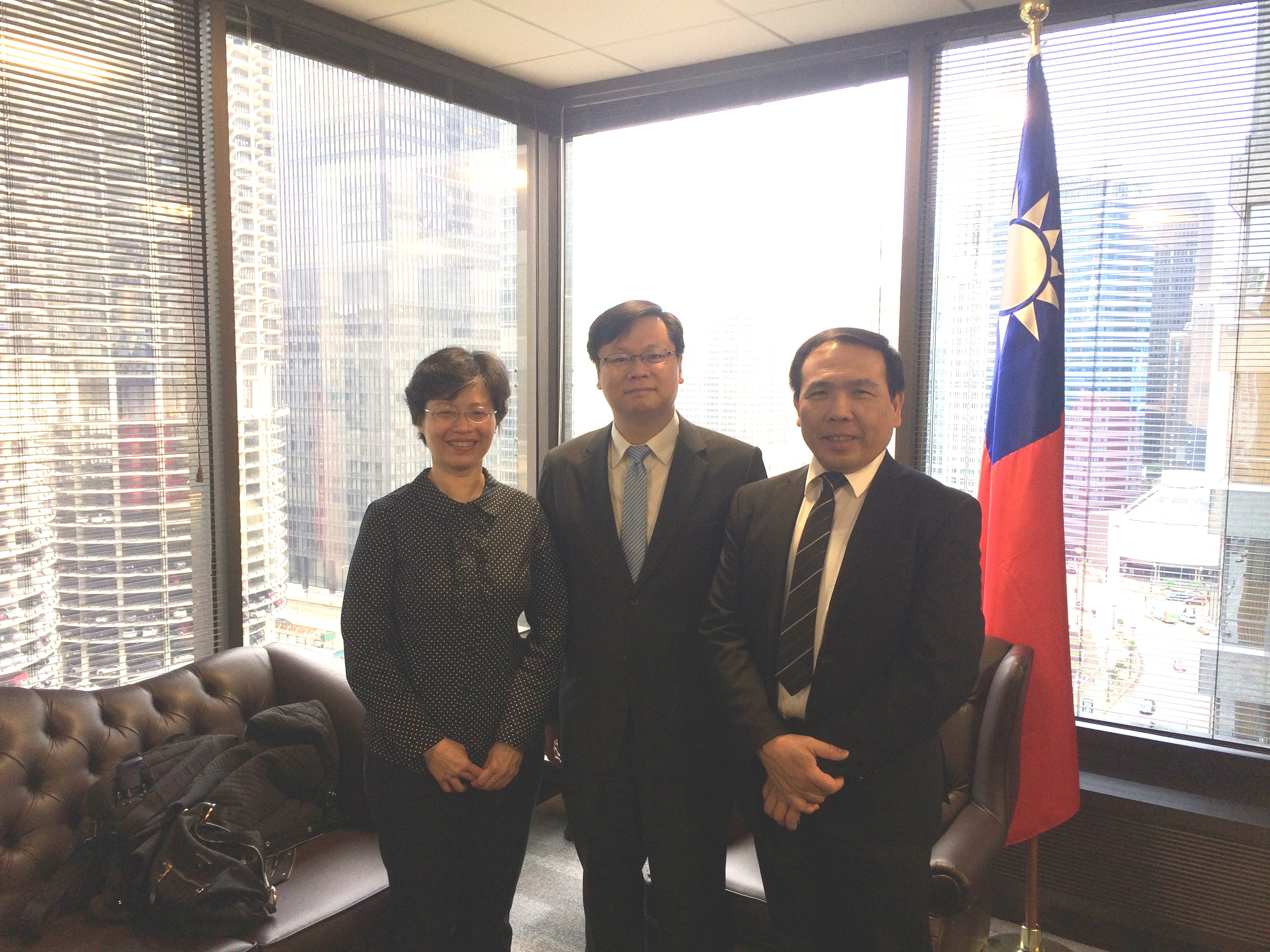 Prof. Wang Ya-Hui from National Taipei University of Education visited TECO in Chicago