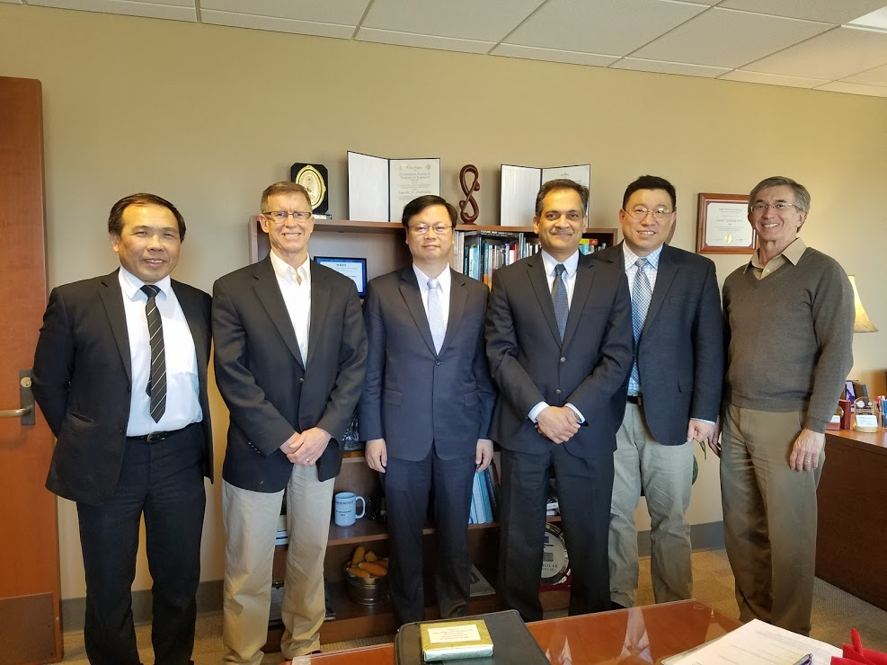 Visit Purdue University with Director General Huang