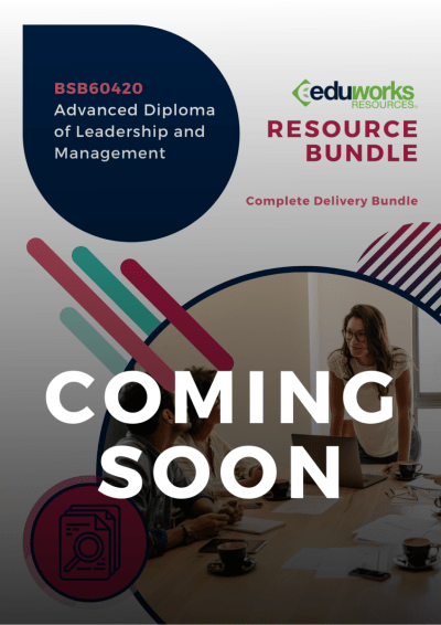 BSB60420 Advanced Diploma of Leadership and Management Coming soon