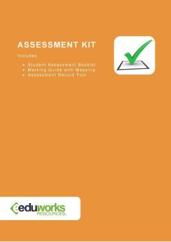 Assessment Kit - CPPDSM4019A Prepare for auction and complete sale