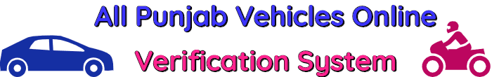 All-Punjab-Vehicles-Online-Verification-System