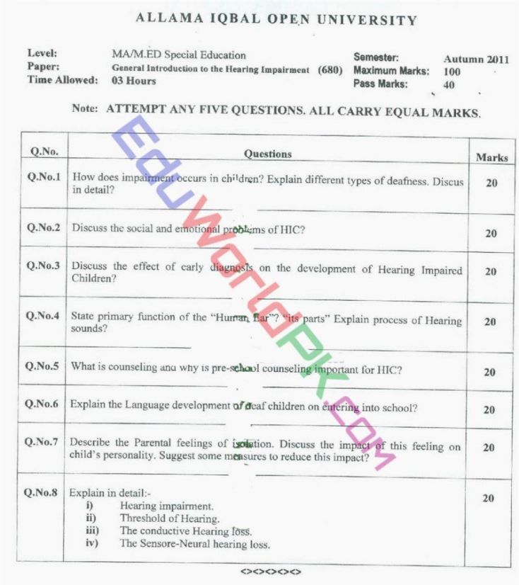 AIOU-MEd-Code-680-Past-Papers-Autumn-2011