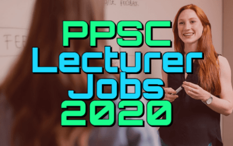 PPSC Lecturers Jobs 2020 fi