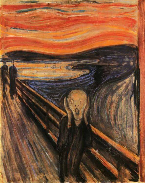 the scream munch 1893