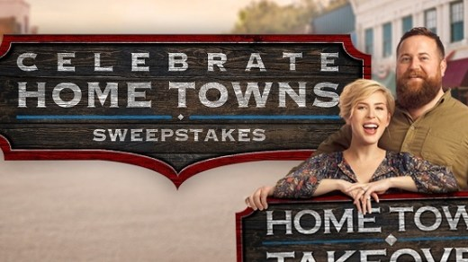 HGTV Home Town Takeover Sweepstakes
