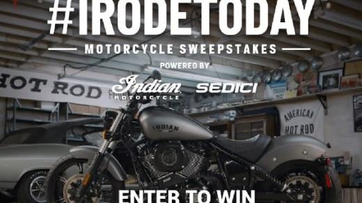 Irodetoday Motorcycle Sweepstakes