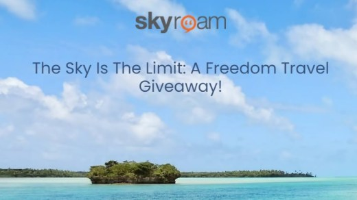 Skyroam The Sky Is The Limit A Freedom Travel Giveaway