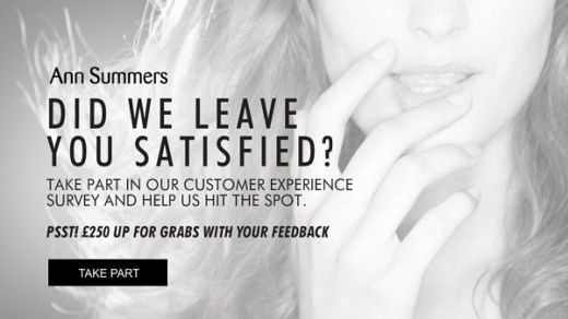 Ann Summers Customer Survey