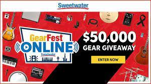 Sweetwater GearFest Gear Giveaway
