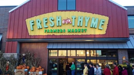 Fresh Thyme Farmers Market Customer Survey
