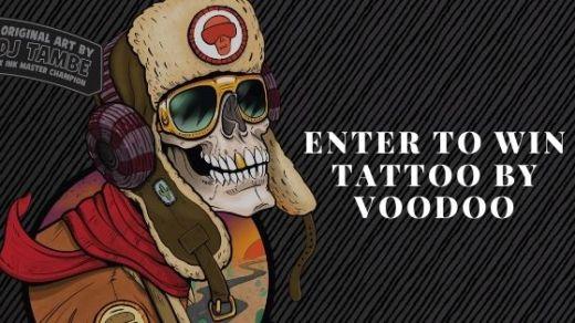 Voodoo Ranger Tattoo Giveaway