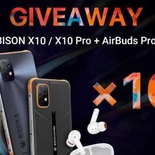 UMIDIGI BISON X10 Series & AirBuds Pro Giveaway