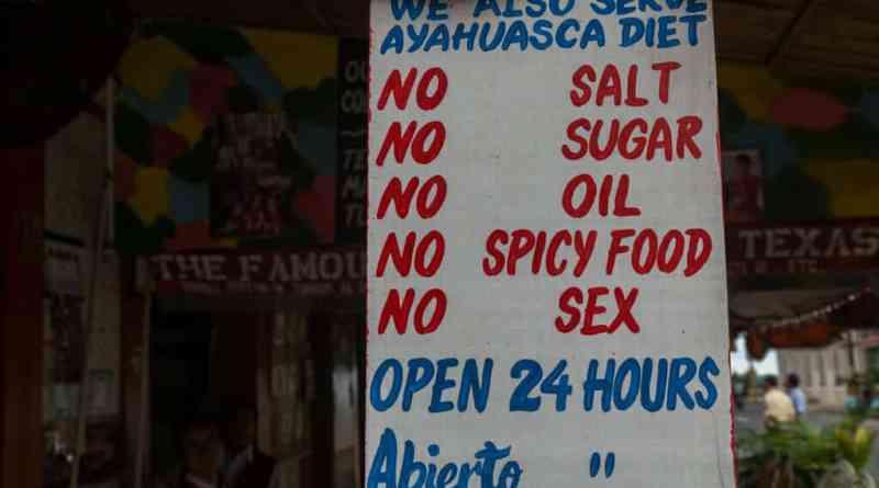 Als je het maximale uit een ayahuasca ceremonie wil halen dan moet je ook een dieet volgen.