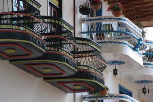 Pretty balconies in Jerico Anitoquia