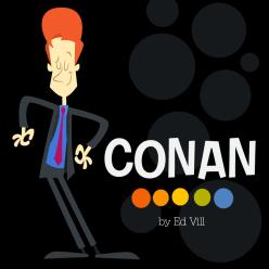 Conan OBrien by EdVill