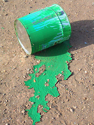 Can a tale of spilled paint as a parable of the McDonald's hot coffee case reveal a person's political ideology?