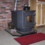 English: Wood pellet stove