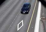 SAN RAFAEL, CA - MAY 06:  A car drives in the ...