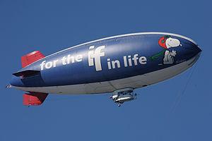 An American Blimp Corporation A-60R airship, t...