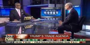 "Where Congress Can Find Common Ground on Trade with President-elect Trump on FBN's ""Making Money"""