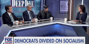 "Exposing socialism's cost to the middle class on Fox Nation's ""Deep Dive""."