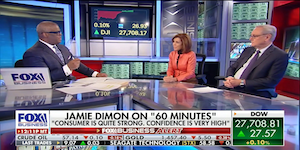 Defending JPMorgan CEO Jamie Dimon's $31m Salary on FBN's Making Money with Charles Payne