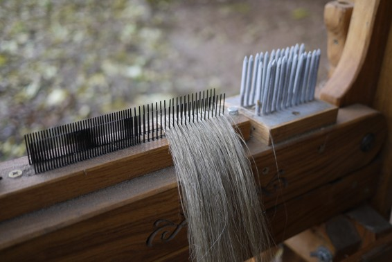 Combing Flax