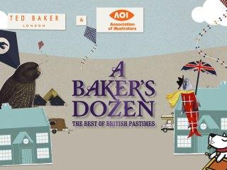 TED BAKER – A BAKERS DOZEN