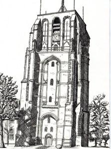De Oldehove, Leeuwarden's leunende toren