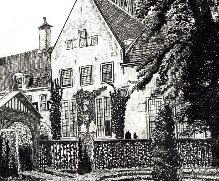 Prinsentuin Groningen, pentekening