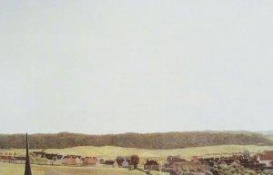 Welhaast fotografisch schilderij van de Deense schilder Christen Købke